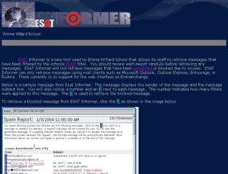 mail.emmawillard.org screenshot