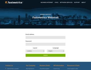 mail.fastmetrics.com screenshot