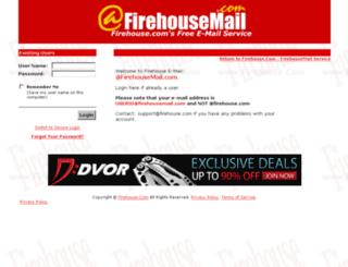 mail.firehousemail.com screenshot