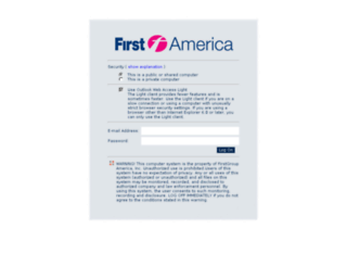 mail.firstgroupamerica.com screenshot