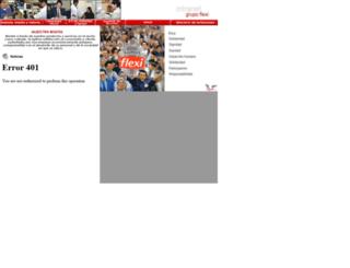 mail.flexi.com.mx screenshot