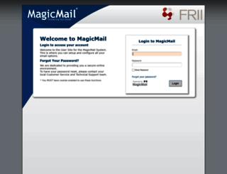 mail.frii.com screenshot