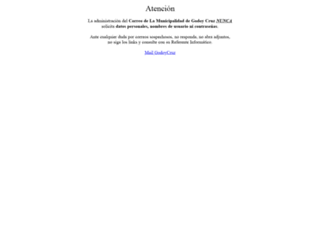 mail.godoycruz.gov.ar screenshot