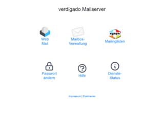 mail.gruenes-cms.de screenshot