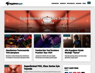 mail.hayatimizoyun.com screenshot