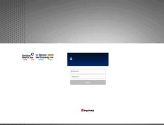 mail.hhchealth.org screenshot