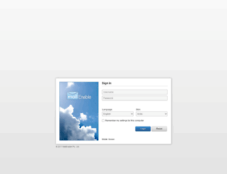 mail.hoangvi.com screenshot