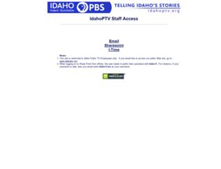 mail.idahoptv.org screenshot