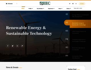 mail.iiec.org screenshot