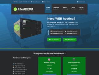 mail.jenzamorhost.com screenshot