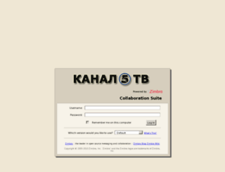 mail.kanal5.com.mk screenshot