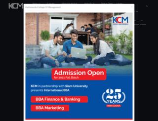 mail.kcm.edu.np screenshot