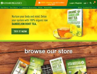 mail.kissmeorganics.com screenshot