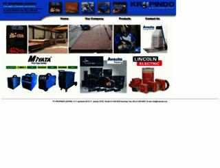 mail.krupindo.com screenshot