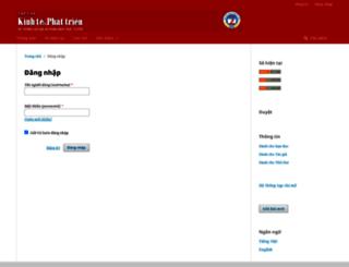 mail.ktpt.edu.vn screenshot