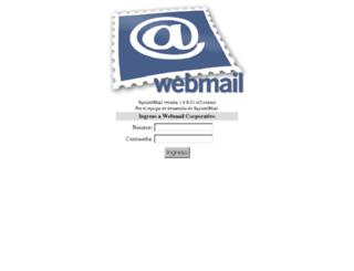 mail.lahora.com.ec screenshot