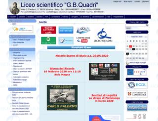 mail.liceoquadri.it screenshot