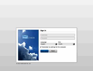 mail.lisebilisim.com screenshot