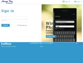 mail.mangobay.com screenshot