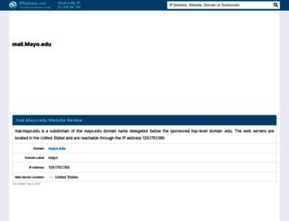 mail.mayo.edu.ipaddress.com screenshot