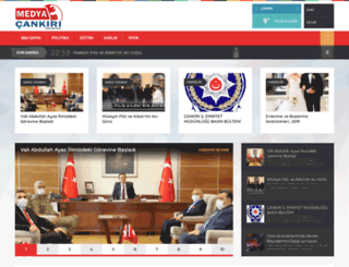 mail.medyacankiri.com screenshot
