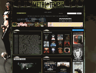 mail.metal-temple.com screenshot