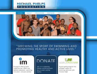 mail.michaelphelpsfoundation.org screenshot