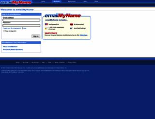 mail.mysite.com screenshot