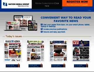 mail.nationmedia.com screenshot