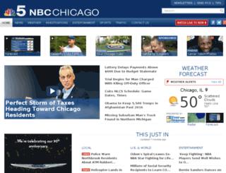 mail.nbcchicago.com screenshot
