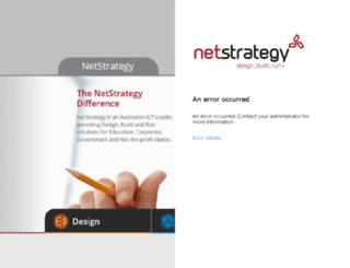 mail.netstrategy.net screenshot