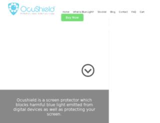 mail.ocushield.com screenshot