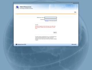 mail.onecalldirect.co.uk screenshot
