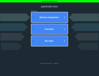 mail.parsmed.com screenshot