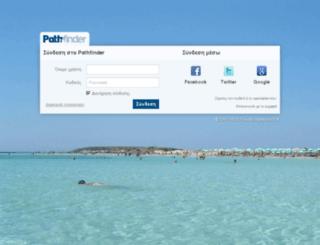 mail.pathfinder.gr screenshot