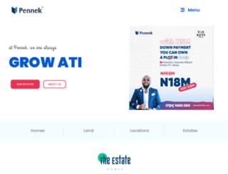 mail.pennek.com screenshot