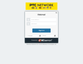mail.ptcnetwork.tv screenshot