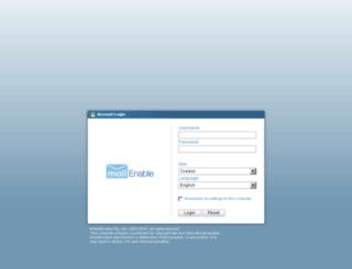 mail.ridakinsaat.com screenshot