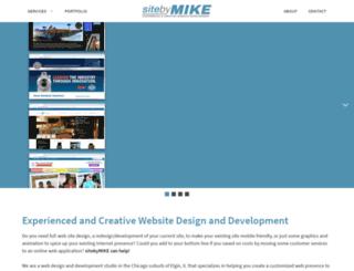 mail.sitebymike.com screenshot