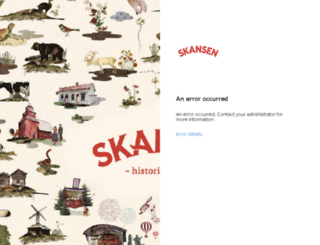 mail.skansen.se screenshot