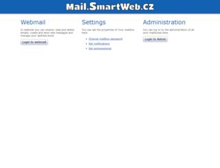 mail.smartweb.cz screenshot