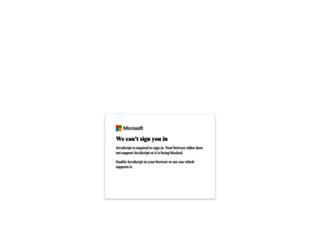 mail.stthomas.edu screenshot