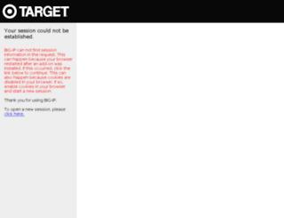 mail.target.com screenshot