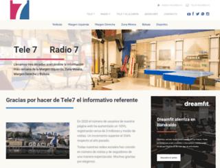mail.tele7.com screenshot