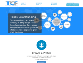 mail.texascrowdfunding.com screenshot