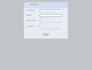 mail.therzi.com.tr screenshot