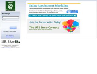 mail.theupsstore.com screenshot