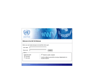 mail.unctad.org screenshot