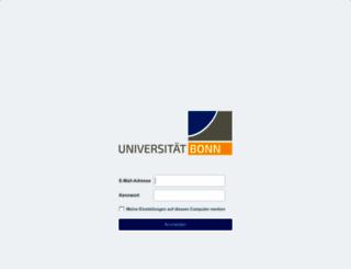 mail.uni-bonn.de screenshot
