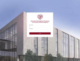 mail.utp.edu.pl screenshot